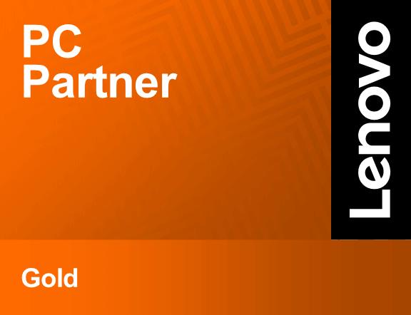 Lenovo Partner logo - PC Partner - Gold